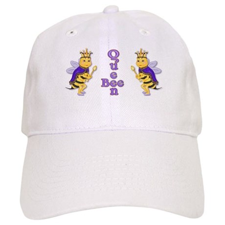 Queen Bee Humor Cap