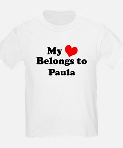 My Heart: Paula Kids T-Shirt