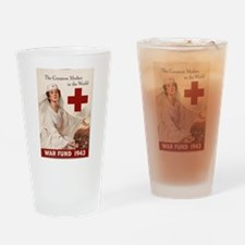 THE GREATEST MOTHER IN THE WO Drinking Glass