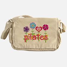 Green Ink Pilates Messenger Bag