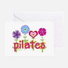 Green Ink Pilates Greeting Cards (Pk of 20)