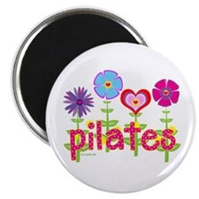"Green Ink Pilates 2.25"" Magnet (10 pack)"