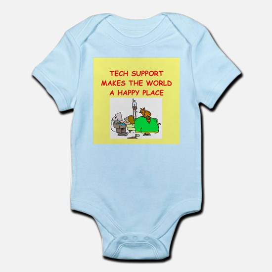 tech support Infant Bodysuit