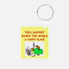 tech support Keychains