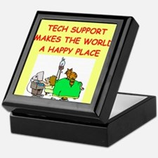 tech support Keepsake Box