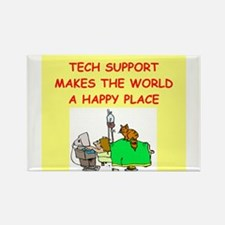 tech support Rectangle Magnet