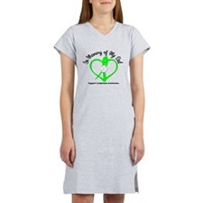 Lymphoma Memory Dad Women's Nightshirt