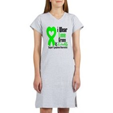 Lymphoma Heart Daddy Women's Nightshirt