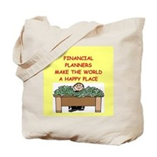 financial planners Tote Bag