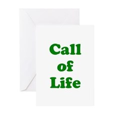 Call of Life Greeting Card