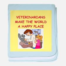 veternarians baby blanket