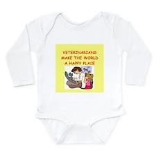 veternarians Long Sleeve Infant Bodysuit