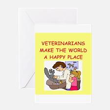 veternarians Greeting Card