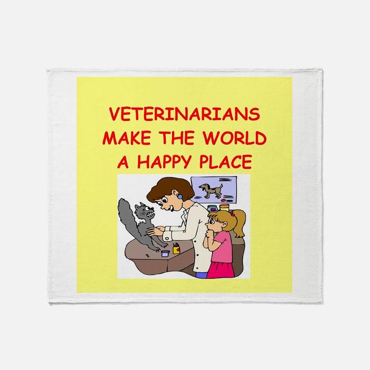 veternarians Throw Blanket