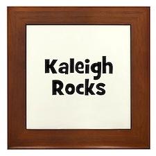 Kaleigh Rocks Framed Tile