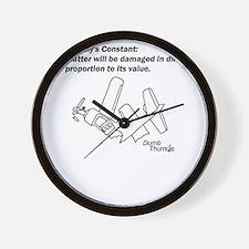 Murphy's Constant Wall Clock