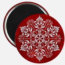 Elegant Snowflake Magnet