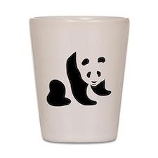 Panda Bear Shot Glass