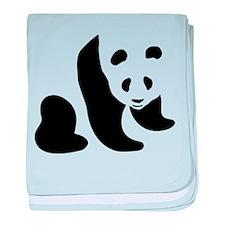 Panda Bear baby blanket