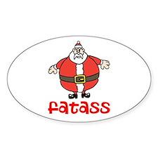 Fatass Decal