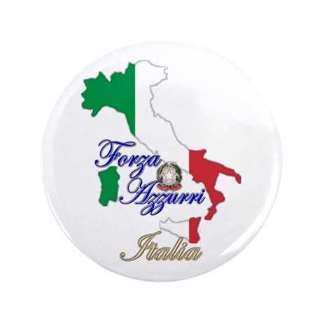 """Forza Azzurri 3.5"""" Button"""