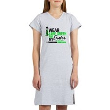 I Wear Lime Green SIL Women's Nightshirt
