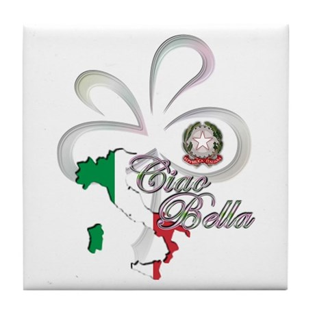 Ciao Bella Tile Coaster