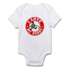 I Love my Daddy - Fireman Infant Bodysuit
