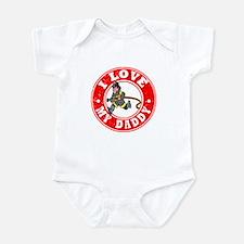 I Love my Daddy - Fireman Infant Bodysuit
