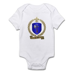 HACHEY Family Crest Infant Creeper