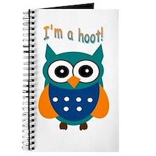 I'm a hoot! Journal