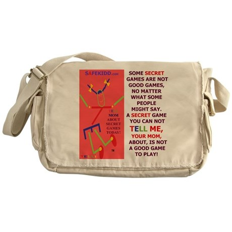 Not a Good Game/Mom/TELLI Messenger Bag