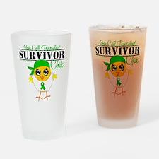 Stem Cell Transplant Survivor Drinking Glass