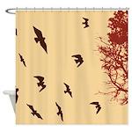 Forest Dusk Shower Curtain