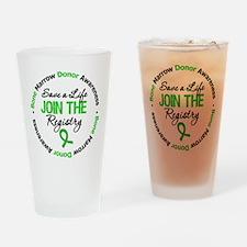 BoneMarrowDonor SaveLife Drinking Glass