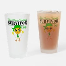 Bone Marrow Transplant Drinking Glass