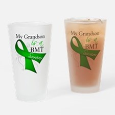 Grandson BMT Survivor Drinking Glass