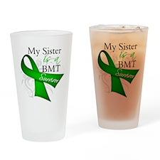 Sister BMT Survivor Drinking Glass