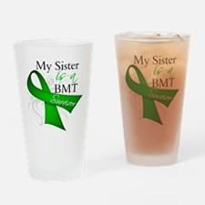 Sister BMT Survivor Drinking Glass