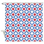 Mod Spots Shower Curtain