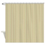 Pink and Green Plaid Shower Curtain