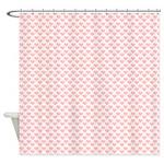 Retro Hexagonal Shower Curtain