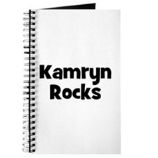 Kamryn Rocks Journal