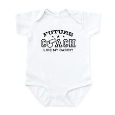 Future Coach Like My Daddy Infant Bodysuit
