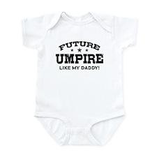 Future Umpire Like My Daddy Infant Bodysuit