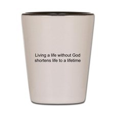 Religion belief Shot Glass