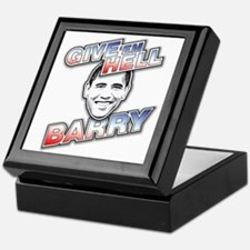 Give 'Em Hell Barry Keepsake Box