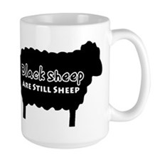 Black Sheep Are Still Sheep Mug