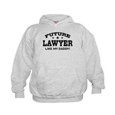 Future Lawyer Like my Daddy Hoodie