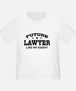 Future Lawyer Like my Daddy T